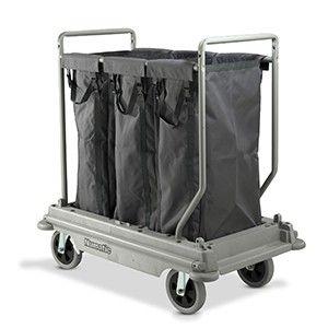 Wasverzamelwagen NB3003 NuBag grijs