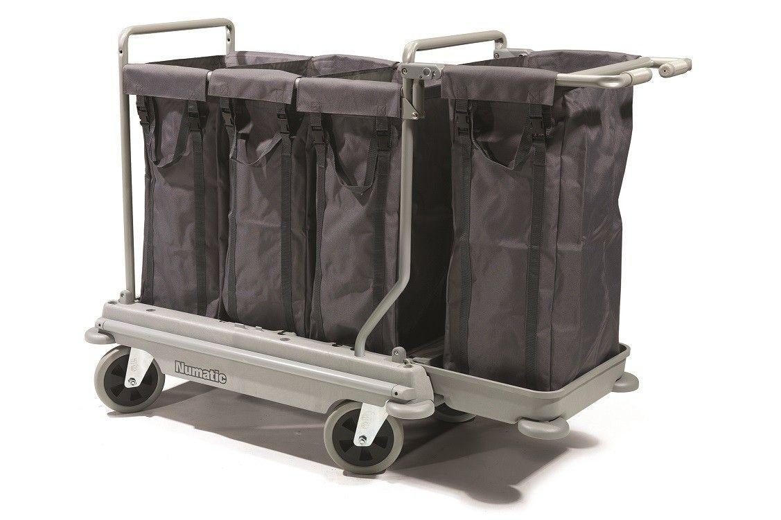Wasverzamelwagen NB4004 NuBag grijs