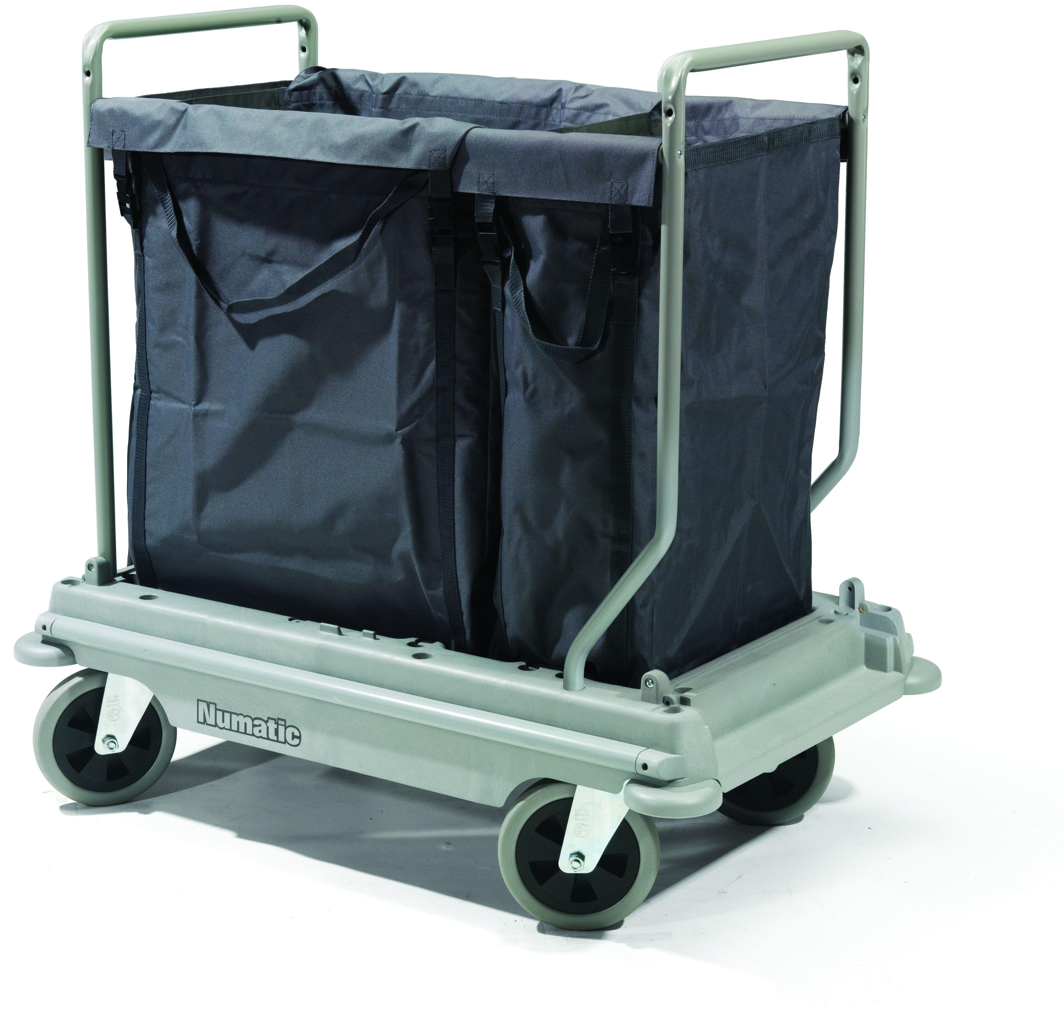 Wasverzamelwagen NB3002 NuBag grijs