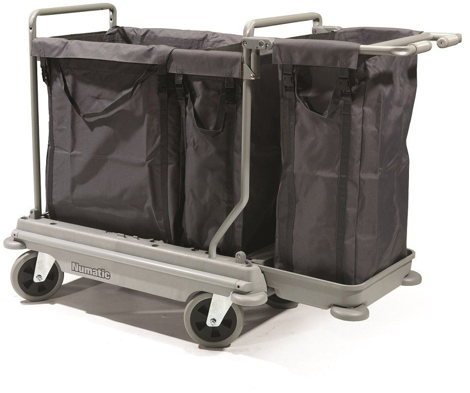 Wasverzamelwagen NB4003 NuBag grijs