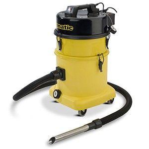 Stofzuiger HZDQ570-2 geel met kit BB19
