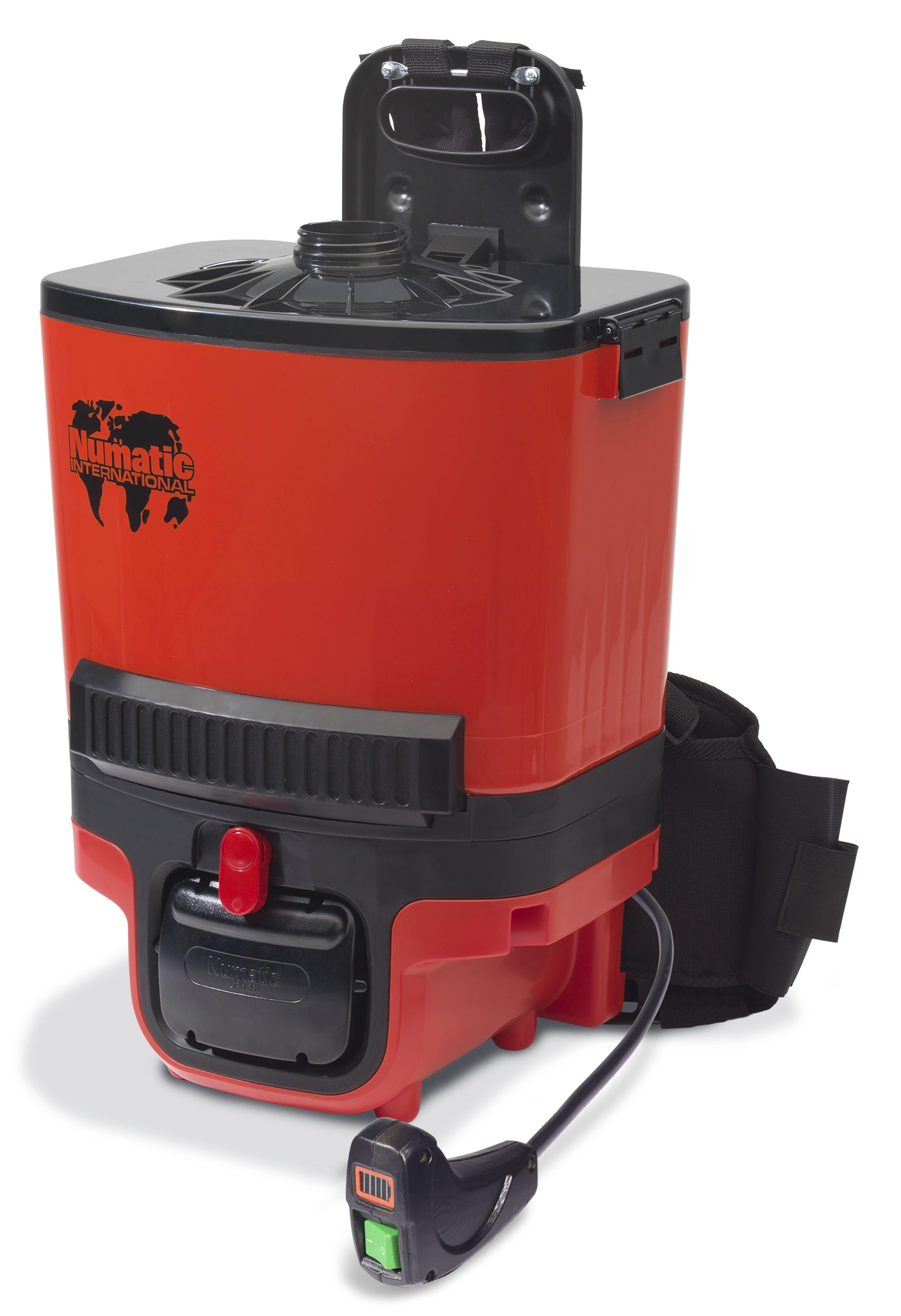 RSB140-2 Rugstofzuiger kit AA30E 2x lithium ion batterij