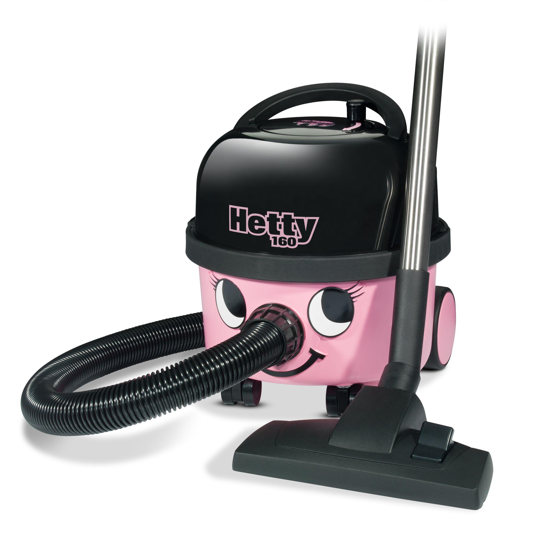 Stofzuiger Hetty Compact HET160 roze met kit AS0