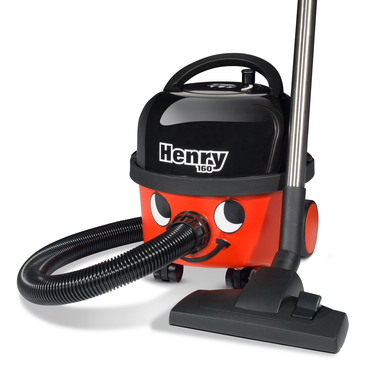 Stofzuiger Henry Compact HVR160 rood met kit AS0
