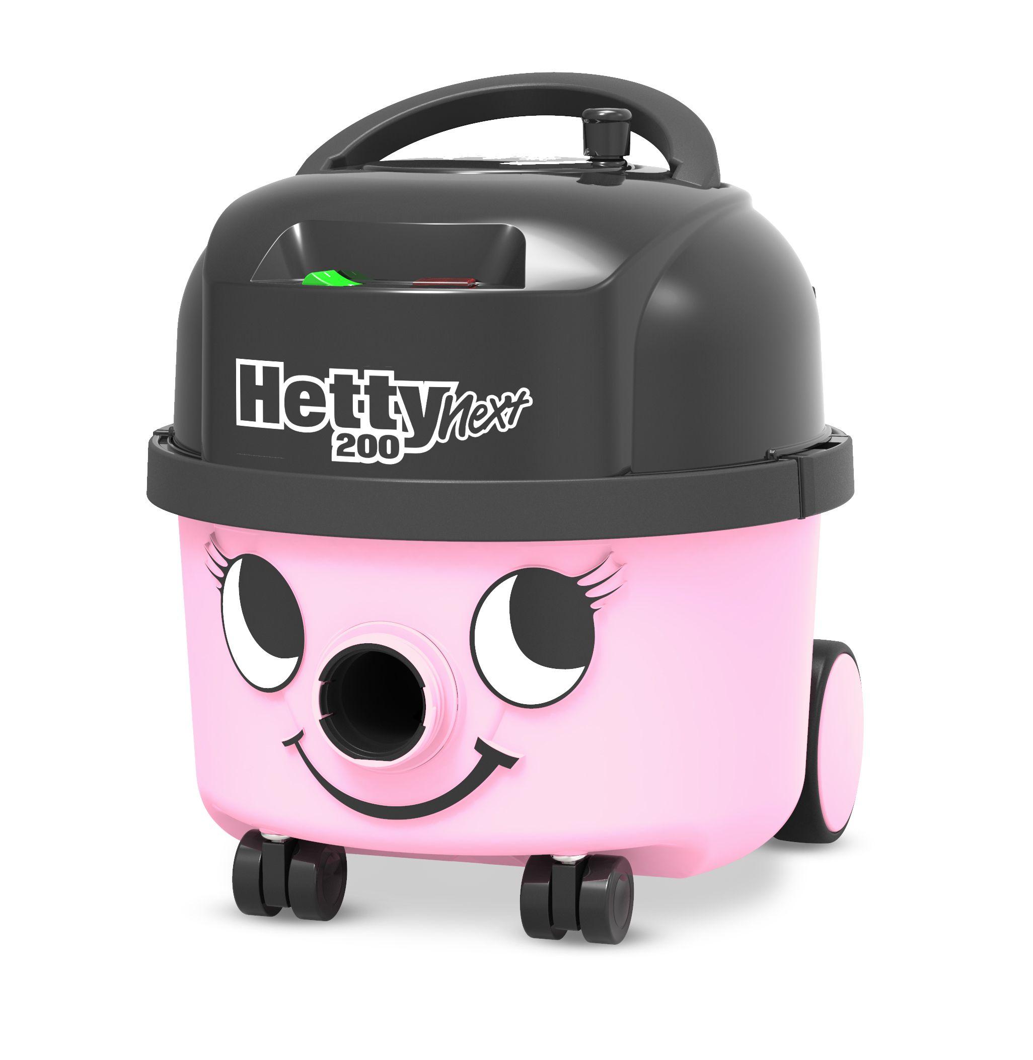 Stofzuiger Hetty Next HVN208-11 roze met kit AST0 en 601530