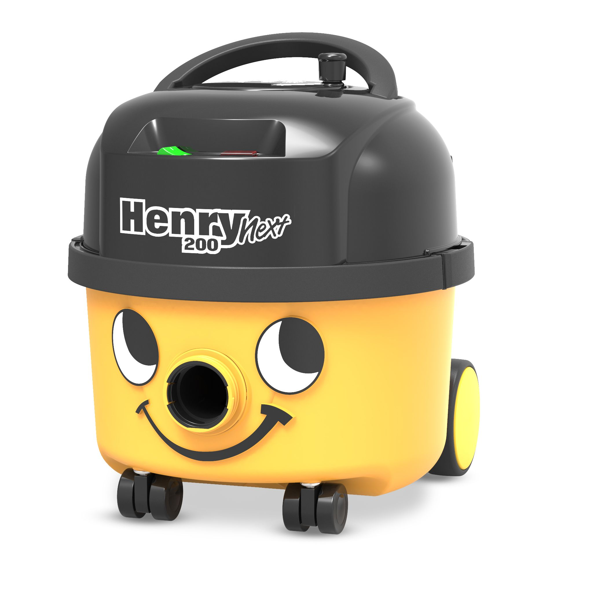 Stofzuiger Henry Next HVN203-11 geel met kit AST0 en 601530