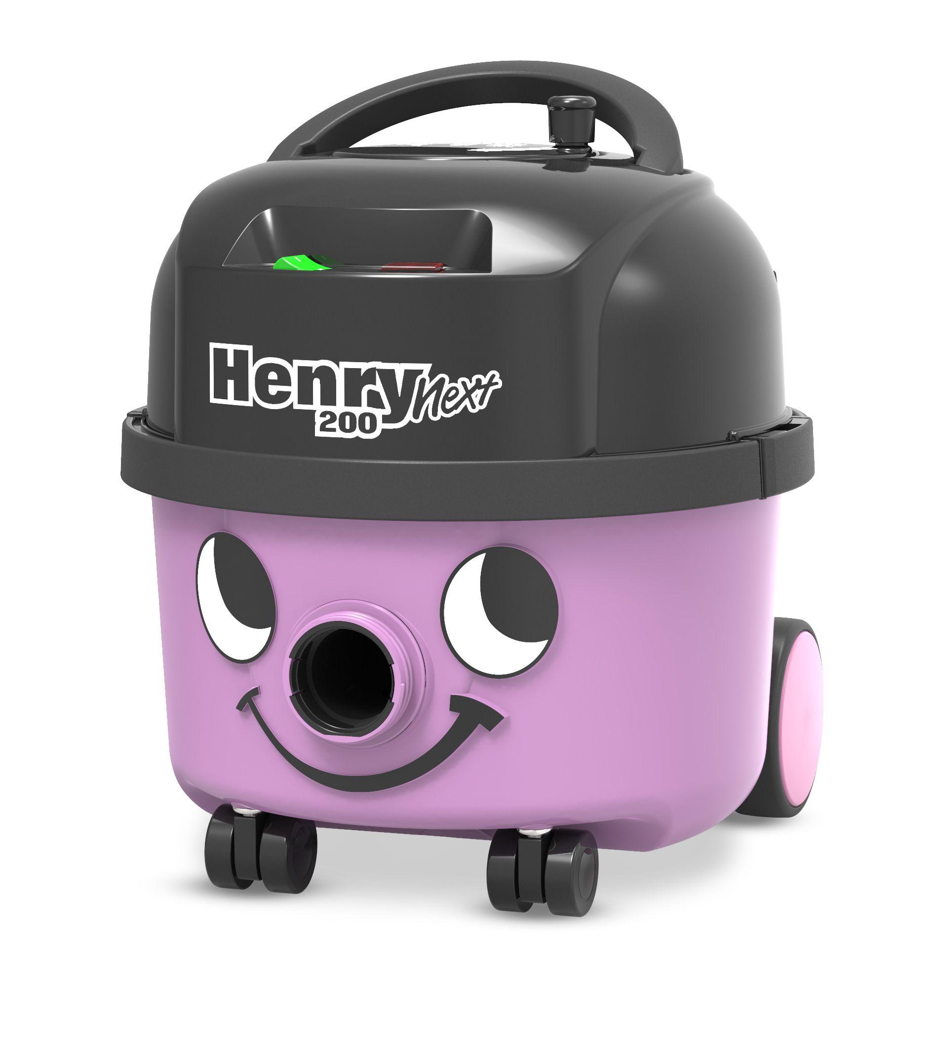 Stofzuiger Henry Next HVN204-11 lavendel met kit AST0 en 601530