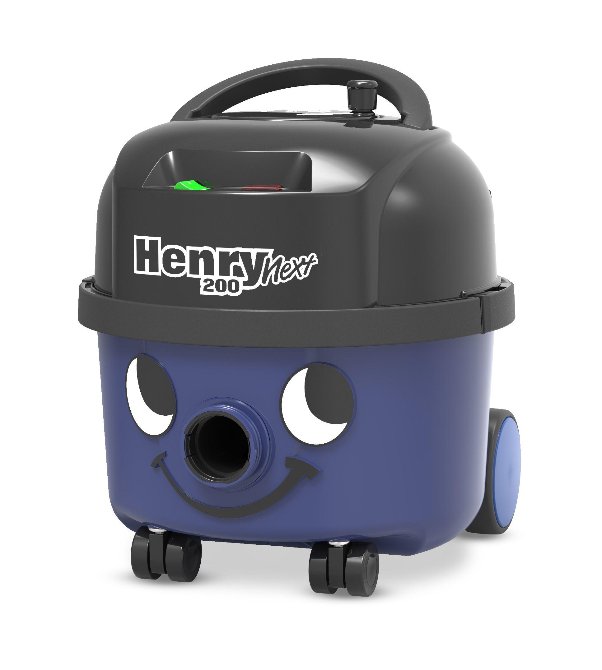 Stofzuiger Henry Next HVN206-11 royal blue met kit AST0 en 601530
