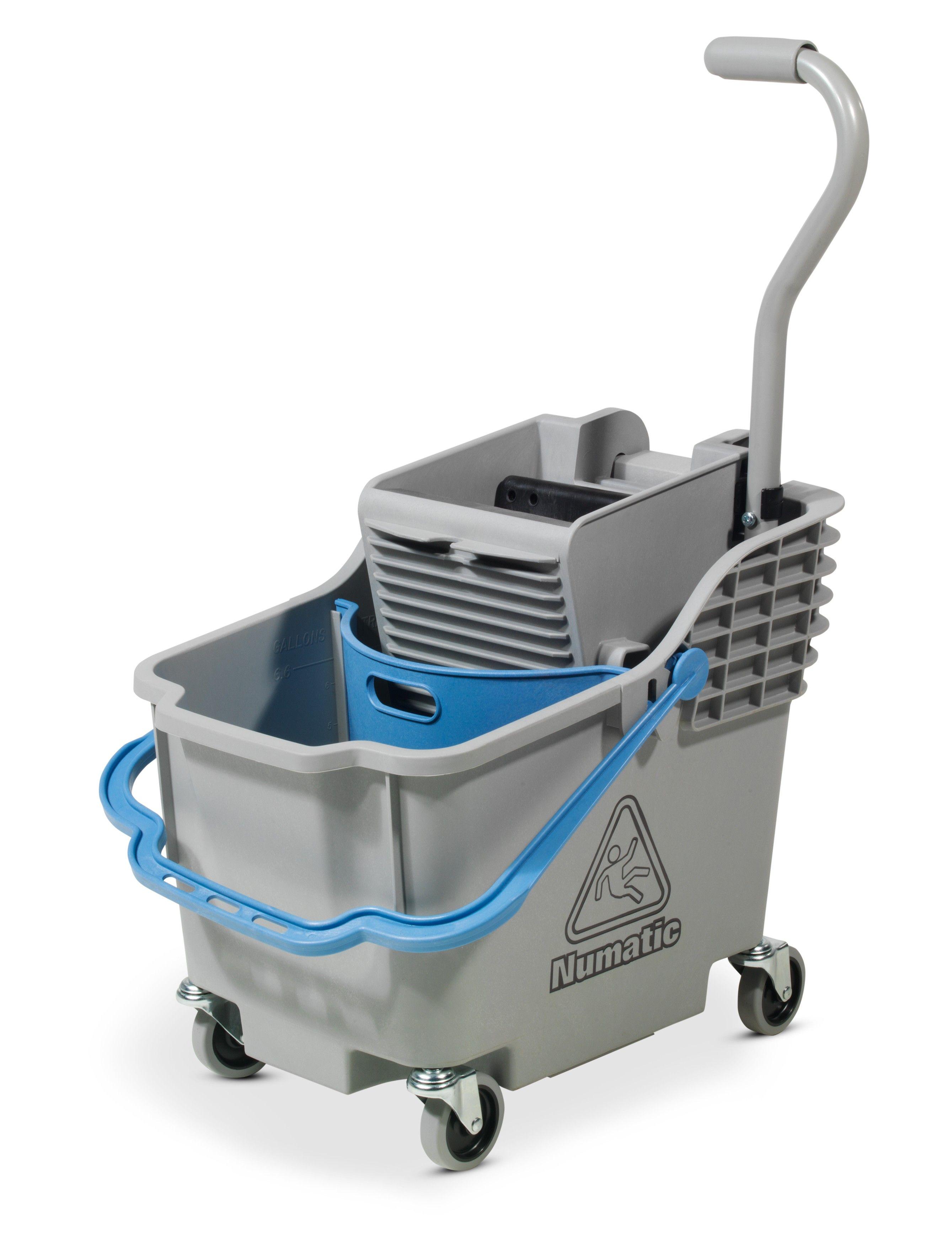 Rolemmer HB 1812 grijs met blauwe hendel