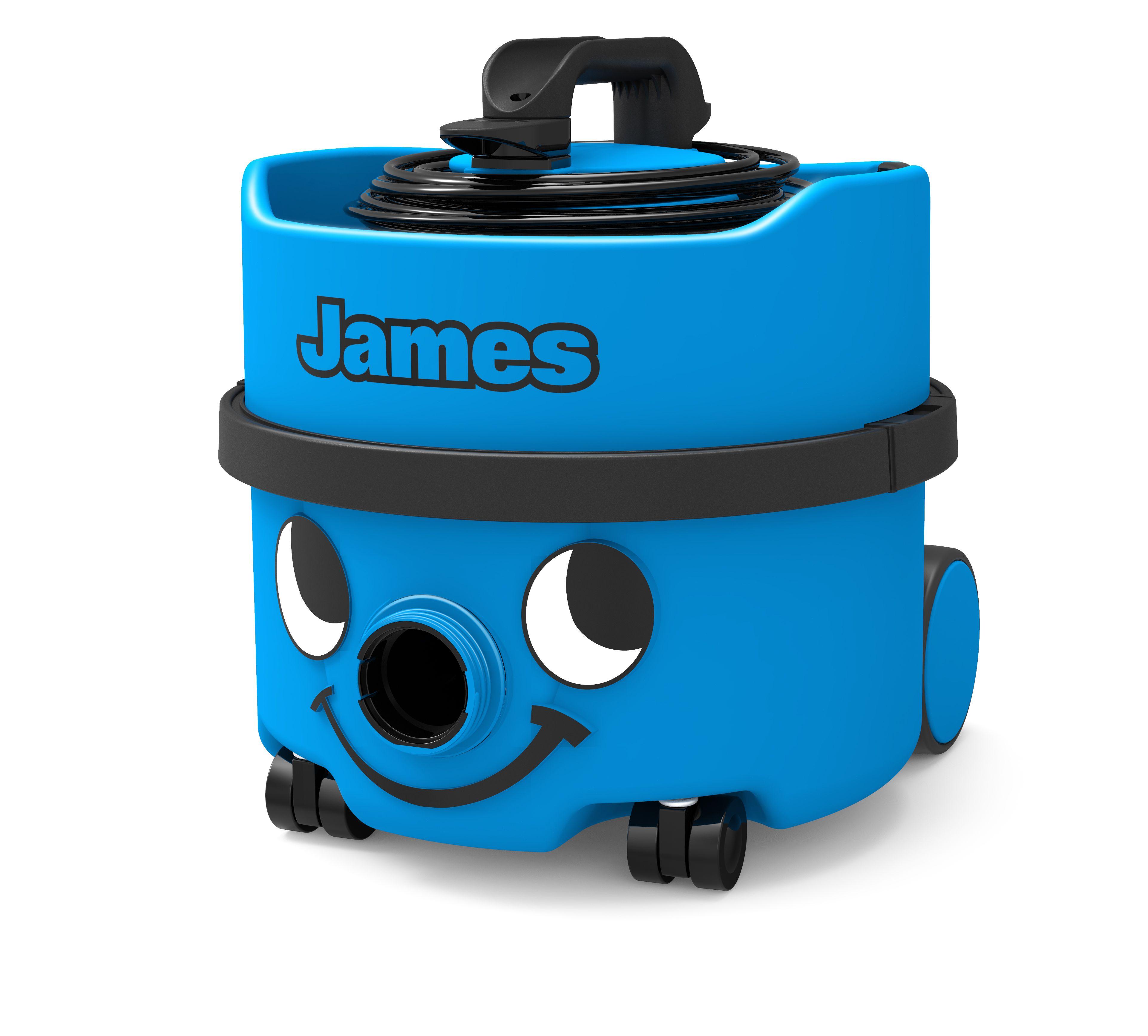 Stofzuiger James JVH187-1 sky blue met kit NA1