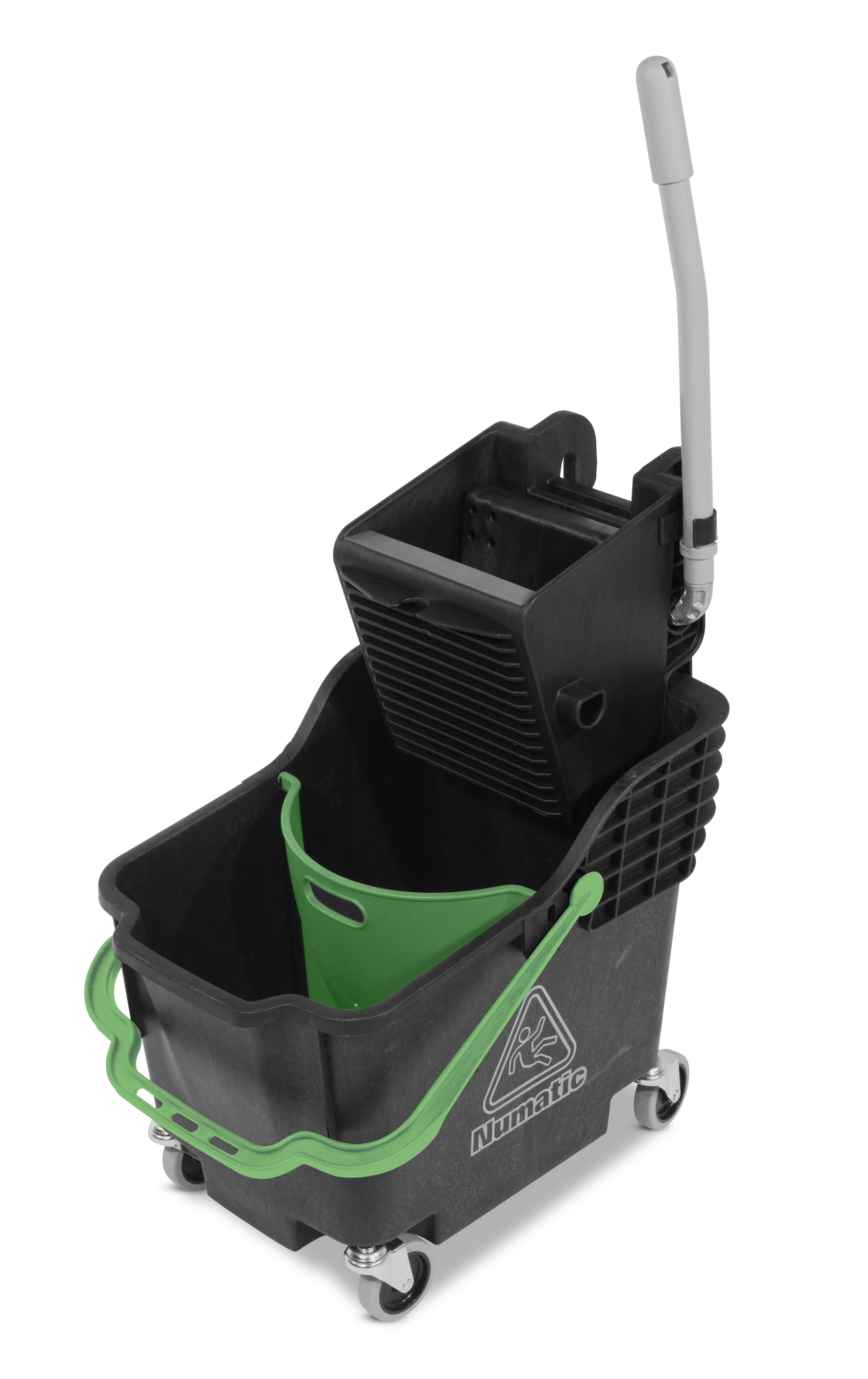 Rolemmer ReFlo HB1812B zwart met groene hendel