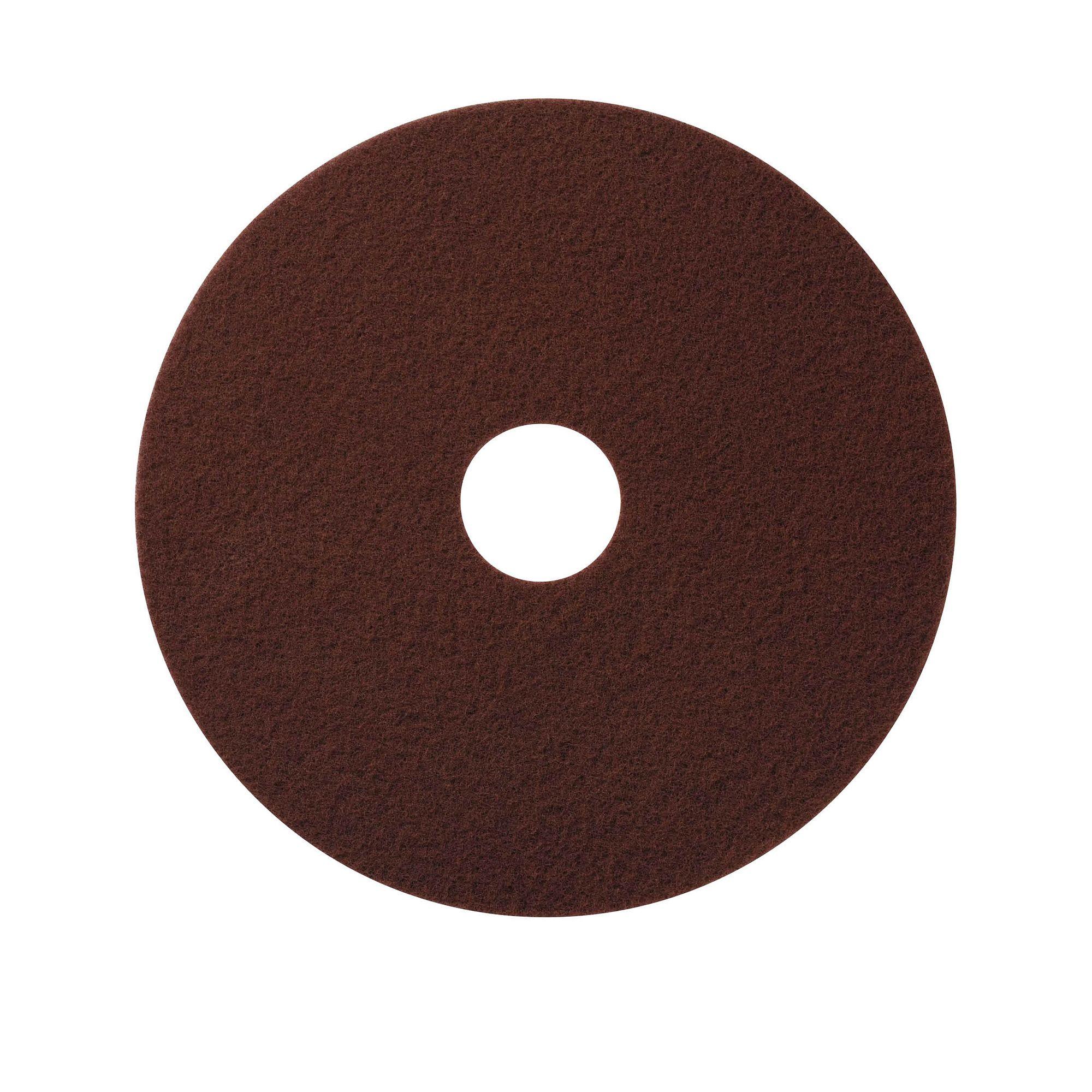 NuPad bruin (strippen zonder chemie), per 10 stuks, 11 inch / 280 mm