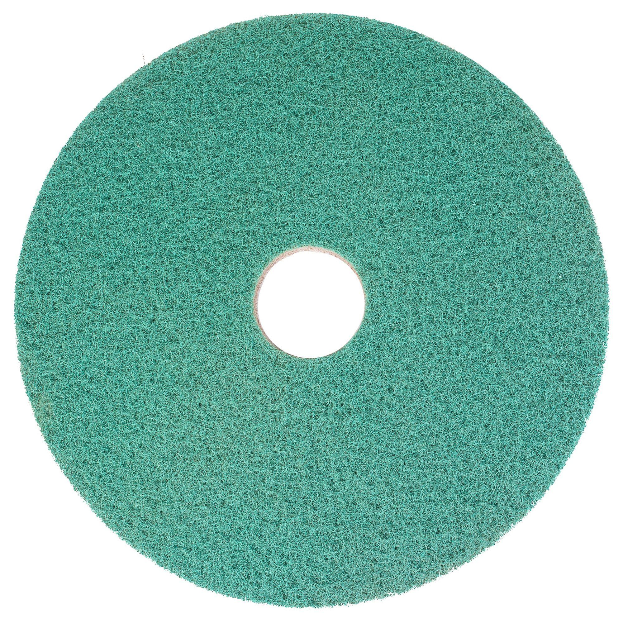 NuPad WaterOnly groen (polijsten), per 2 stuks, 14 inch / 355 mm