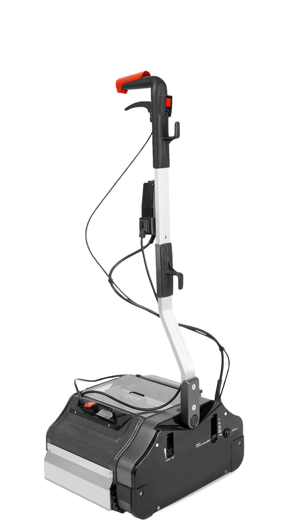 Duplex wals-borstelmachine 340, 230 Volt stoom