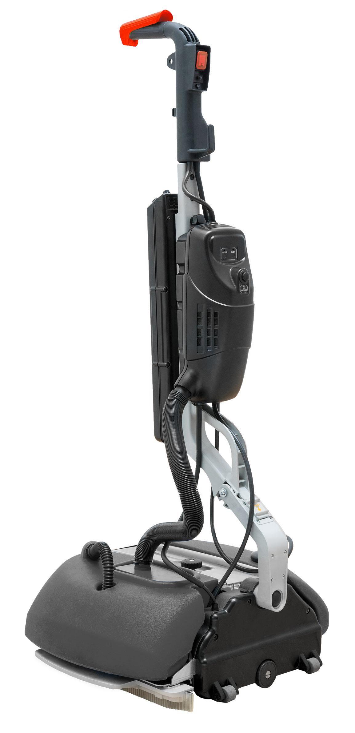 Wals-borstelmachine 380, batterij turbo