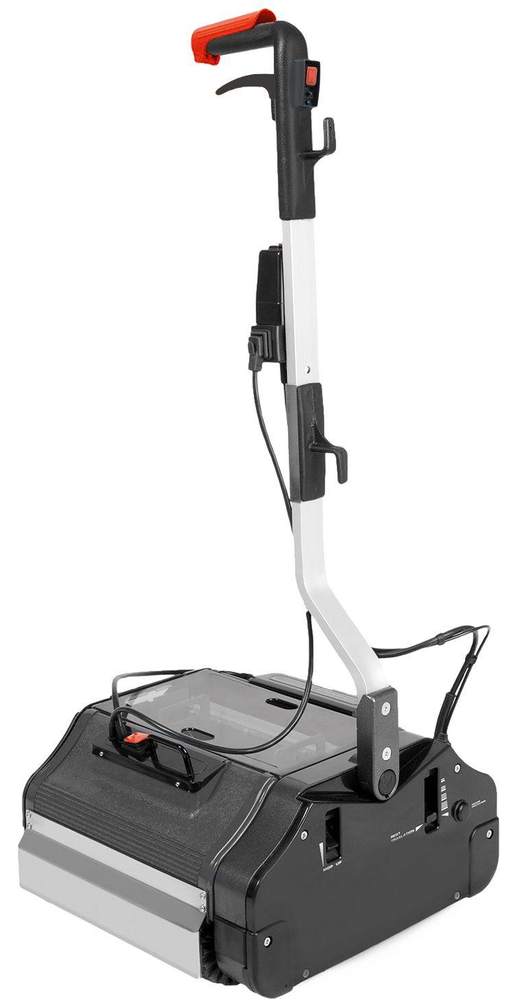 Duplex wals-borstelmachine 420, 230 Volt stoom