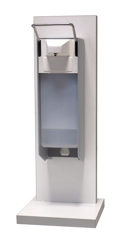 Tafel/balie dispenser 'Comfort' met hand/elleboog bediening