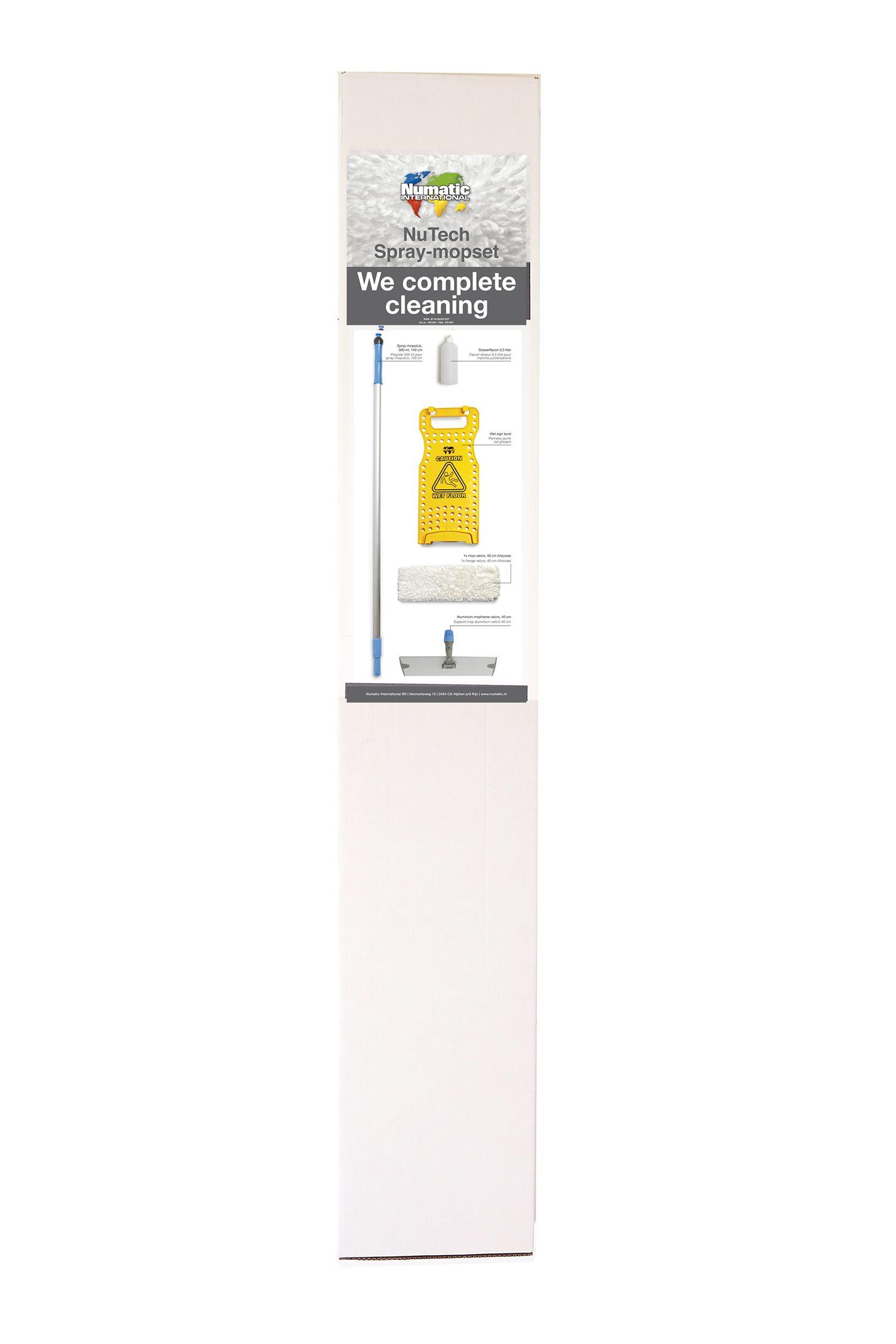 NuTech spray-mopset