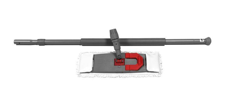 NuTech mopset 'hang-on' (1x mop+mophouder+telesc. steel comfort)