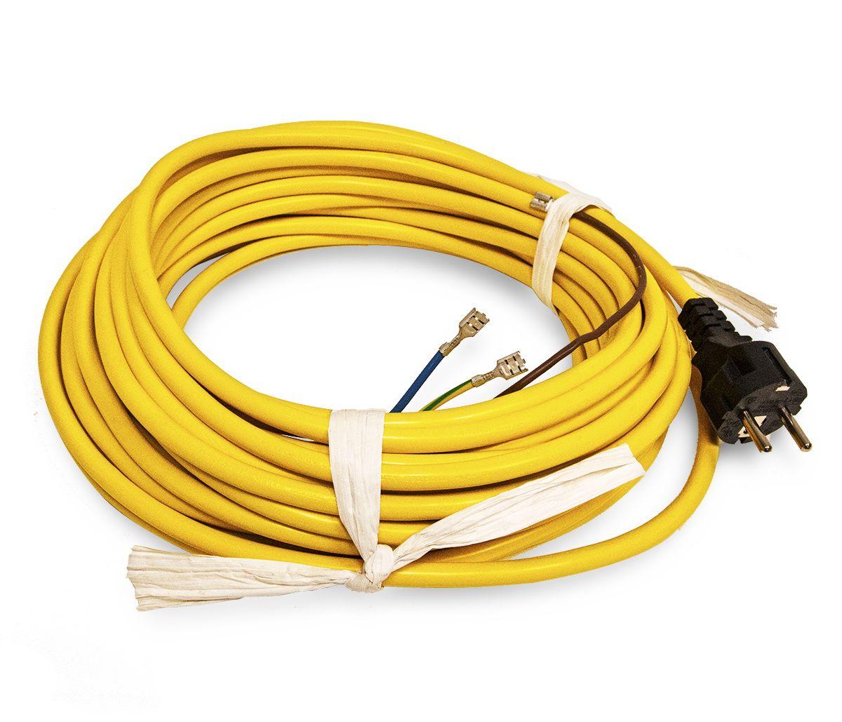Snoer 15m 3x1,5mm geel t.b.v. HFM