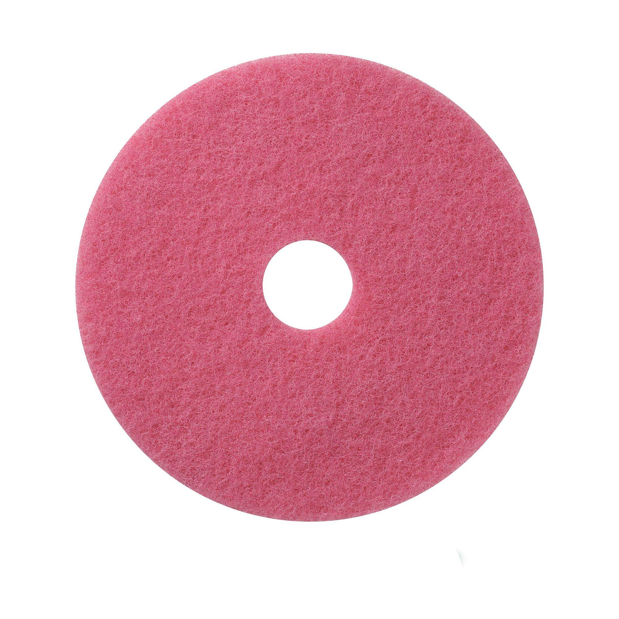 NuPad roze (schrobben), per 5 stuks, 14 inch / 355 mm